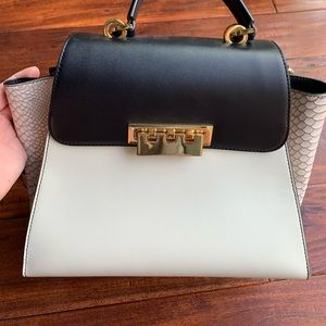 Zac Posen Eartha Top Handle Natural purse
